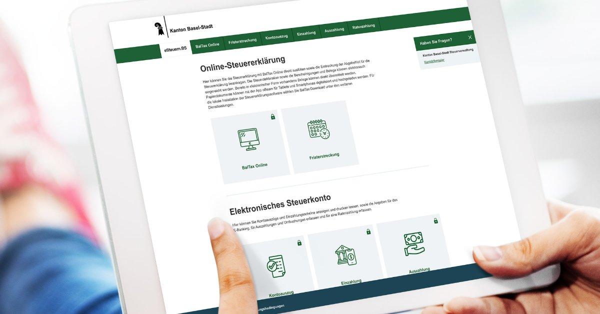 Steuerverwaltung des Kantons Basel-Stadt - BalTax